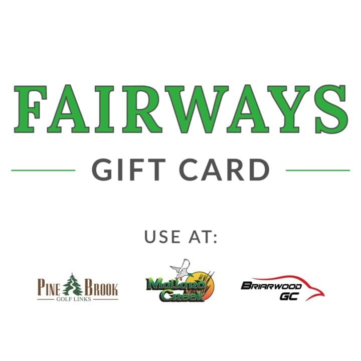 Fairways Gift Card