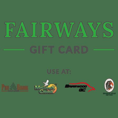Fairways Golf Gift Card